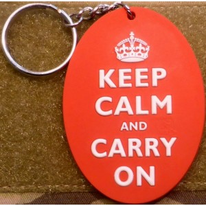 Portachiavi Keep Calm and Carry on