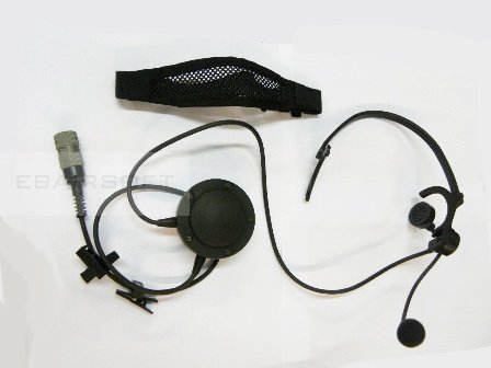 Racal Commercial Lightweight headset PRC-148