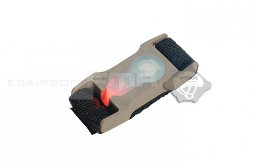 SPLIT BAR Strobe Light Red
