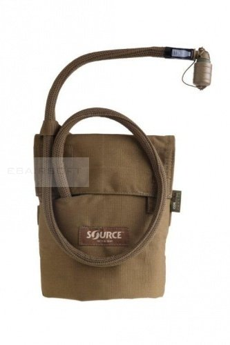 Source Canteen 1 Qt. with Pouch coyote