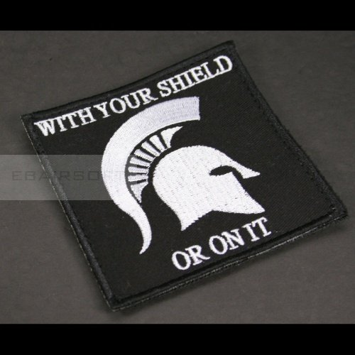 Spartan OYS big velcro patch