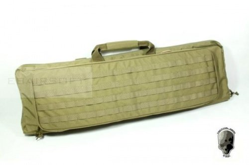 TMC 97 x 31 cm MOLLE Double Rifle Case ( KHAKI )