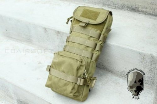 TMC Clips Hydration Carrier ( KHAKI )
