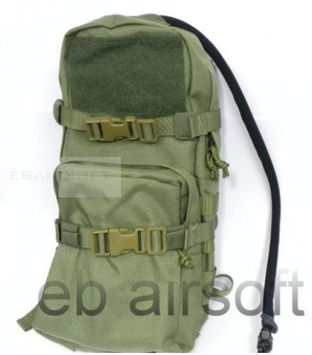 TMC Cordura Modular Assault Pack w/ 3L Hydration Bag OD
