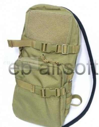 TMC Cordura Modular Assault Pack w/ 3L Hydration Bag TAN
