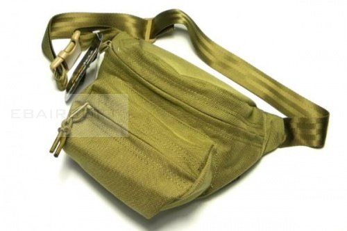 TMC Cordura low pitched waist pack ( Khaki )