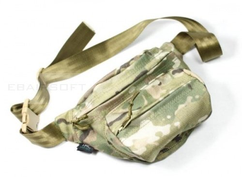 TMC Cordura low pitched waist pack ( Multicam )