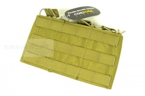 TMC M4 Triple Wedge Mag Pouch ( Khaki )