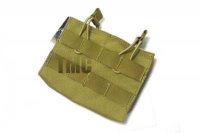 TMC MOLLE Double Wedge mag pouch ( khaki )