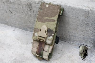 TMC MOLLE INTEGRATED BATTLE Radio Pouch ( Multicam )