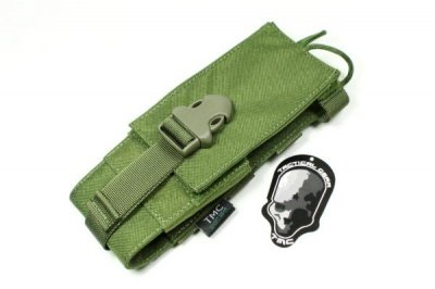 TMC MOLLE INTEGRATED BATTLE Radio Pouch ( OD )