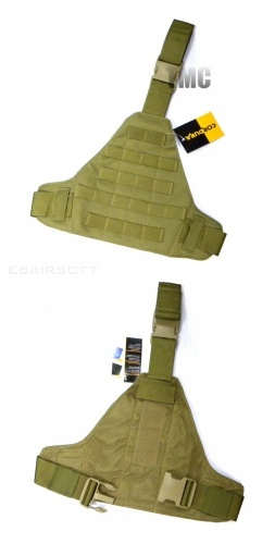 TMC Triangular Molle panel ( TAN )