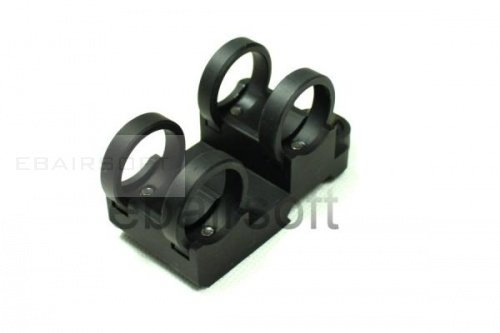 Tactical Double Stack Light Mount 0.83 inch