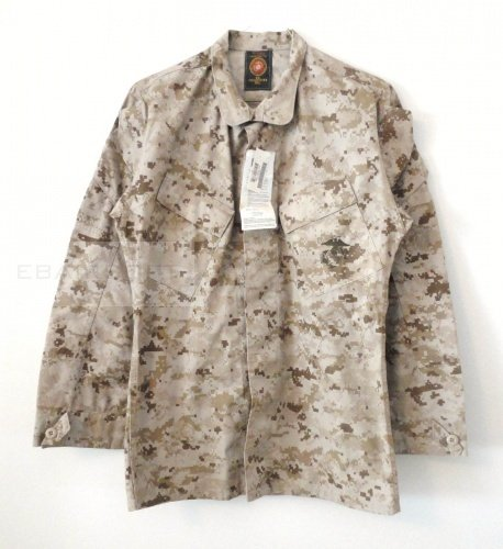 USMC MCCUU Desert Marpat Shirt  surplus Medium regular