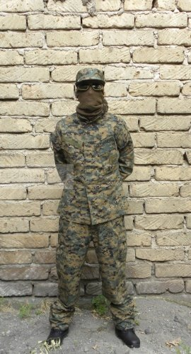 USMC Marpat uniform