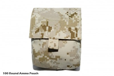VGC 100 Round Ammo Pouch ( AOR1 )