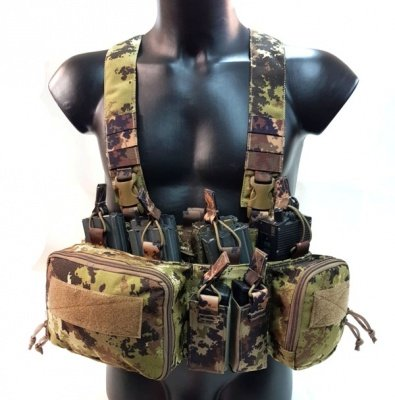 VHTac Vikar chest rig Vegetato IT