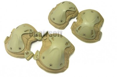 XTAKK Knee & Elbow Pads ( Tan )