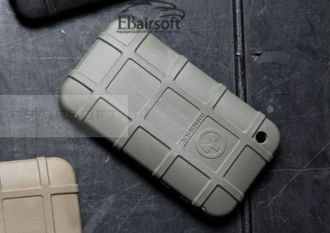 iPhone rubber Mag-case OD